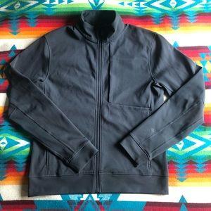 Men's Lululemon Track Jacket Dark Grey Sz. M